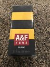 Abercrombie & Fitch 1892 cologne YELLOW 1.7 floz for Men A & F New In Box