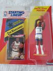 1992 TIM HARDAWAY Golden State Warriors Rookie- Starting Lineup Card Action