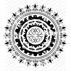 Boho Mandala Cover A Card Background Unmounted Rubber Stamp Impression Obsession