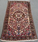 ANTIQUE SHABBY CHIC COUNTRY LOOK NORTH WEST PERSIAN BORCHALU RUG  100 YEARS OLD
