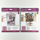 Diesire Crafters Companion Lot Of 2 Die Sets Love Birds  What A Hoot Owl