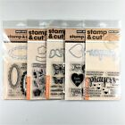 Hero Arts Stamp  Cut Lot Of 5 Clear Stamp Die Sets Prayers Butterfly Tags