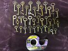 vtg. antique old small skeleton keys door cabinet  LOT #4 steampunk