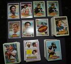 Lot of approx. 500 1980 1981 Topps football cards w 1983 cello pack