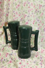 NEW FRANKOMA FOREST GREEN SALT AND PEPPER SET