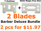 Barber Deluxe Bundle T outliner Replacement Ceramic Blade Wahl Replacement Blade