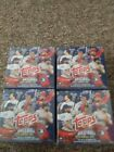 2018 Topps Baseball HOLIDAY MEGA 4 Sealed Boxes 1 Relic or Autograph Per Box