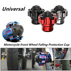 Motorcycle Scooter Dirt Bike CNC Front Wheel Frame Slider Falling Protector Cup