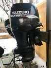 PRICE REDUCED! (2) 2003 Suzuki DF90 4-Stroke Outboard Boat Motor Engines w/Props