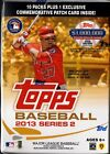 2013 Topps Series 2 Baseball Cards Blaster Box - 10 Packs + 1 Patch Card