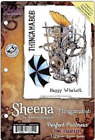 Crafters Companion Rubber Stamp SHEENA THINGAMABOB