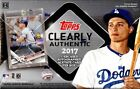 2017 Topps Clearly Authentic Baseball Factory Sealed Hobby Box