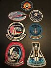 LOT OF 7 NASA Space Shuttle Mission Patches NOS Grumman