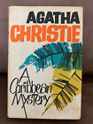 A Caribbean Mystery SIGNED by AGATHA CHRISTIE on a tipped in card1964 First ed