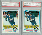 1981-82 Topps Peter Stastny Rookie Cards - Lot of (8) - PSA