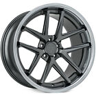 4 New 19 Rohana Wheels RC9 Gloss Graphite Rims FS