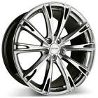 Set4 20 Ace Alloy Wheels Aspire Hyper Silver with Machined Face Rims FS