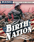 The Birth of a Nation 1915 3 Disc Blu ray + DVD Deluxe Edition BLU RAY NEW
