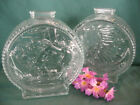 LOT/2 Vintage Glass Anchor Hocking Indian Head/Buffalo Nickel Banks collectible