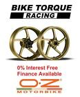 Gold OZ Piega Alloy Wheels Ducati 990 Desmosedici RR (17'' Rear) 07-09