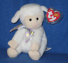 TY SHEEPISHLY the LAMB BEANIE BABY - MINT with MINT TAGS