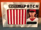 2009 Upper Deck Ultimate Patch Jered Weaver American Flag Patch #'d 35