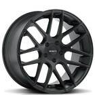 Set4 20 Zenetti Wheels Monterey Satin Black Rims FS