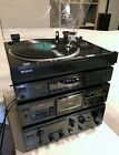 80's Sony ES Set TA-F700ES Amp ST-S700ES Tuner TC-K555ESX Deck PS-X600 Turntable