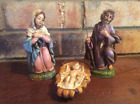 Beautiful Nativity Pieces Mary Joseph And Baby Jesus Made In Italy