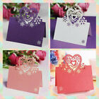 50pcs Decor Invitation Party Wedding Table Name Greeting Cards Place Cards