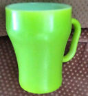 Fire King-Coke Style Mug-Green-Excellent Condition