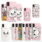 Disney Aristocat Marie Cat Case Cover For iPhone 6 11 Pro Max Huawei P30 Mate 20