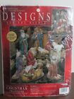 Designs For The Needle Christmas NATIVITY FIGURES Counted Cross Stitch Kit 31984