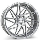 4Rims 19 Staggered Ace Alloy Wheels Driven Silver with Machined Face Rims FS