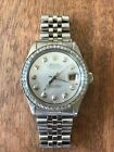Rolex Oyster Perpetual Datejust Womans/Diamond - READ