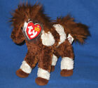 TY THUNDERBOLT the HORSE BEANIE BABY - MINT with MINT TAGS