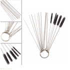 Carburetor Carbon Dirt Jet Remove 10 Cleaning Needles+5 Brushes Tool For Yamaha
