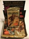 (10) PACKS 1993 MARVEL MASTERPIECES Pack Fresh from Box from SKYBOX!