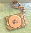 2005 JUICY COUTURE Green Record Player Charm EXTREMELY RARE