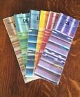 Awagami Factory Hand Dyed Japanese paper 40 sheets pack 3 sq Select color