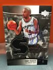 2004-05 Upper Deck Ultimate Collection Tony Parker Auto Jersey Buyback #'d 14