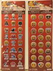 Emoji Puffy Sticker Sheets 2 with 48 Decorative Faces And Sayings Stickers