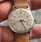 JUNGHANS DESIGN MAX BILL 27.3701.409 manual watch  working condition,serviced