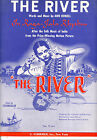 THE RIVER Sheet Music The River Jean Renoir Classic Film 1952