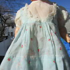 Doll Dress Batiste Fairy Tale Print For Dy Dee Baby Tiny Tears 12 13 1940s