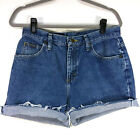Riders By Lee Vintage Mom Jeans 90s High Rise Size 10 Cutoffs Medium Wash