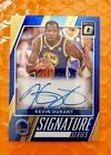 #2 25 On Card Auto Kevin Durant 2017-18 Optic Signature Series BLUE Prizm Mint!