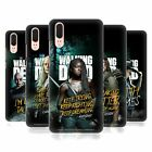 OFFICIAL AMC THE WALKING DEAD SEASON 9 QUOTES HARD BACK CASE FOR HUAWEI PHONES 1