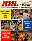 Sport Annual 1965 Mickey Mantle and Johnny Unitas, plus the Olympics cover