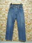 REAL VTG 80s 501 JEANS SELVEDGE USA BUTTON 524 WAIST 26 INSEAM 305 A400